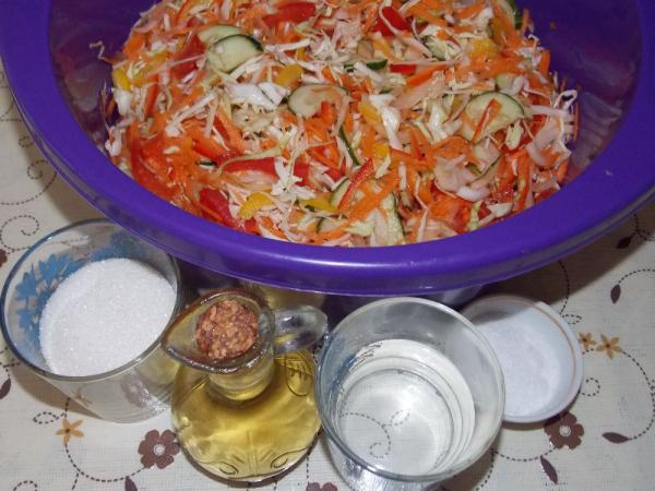 Салат из капусты на зиму — очень вкусные рецепты в банке этап 25