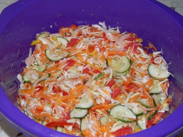 Салат из капусты на зиму — очень вкусные рецепты в банке этап 26