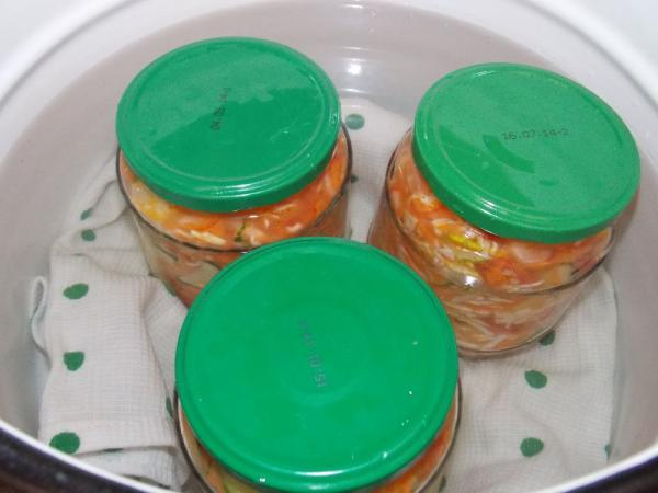Салат из капусты на зиму — очень вкусные рецепты в банке этап 28