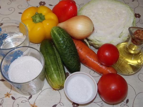 Салат из капусты на зиму — очень вкусные рецепты в банке этап 19