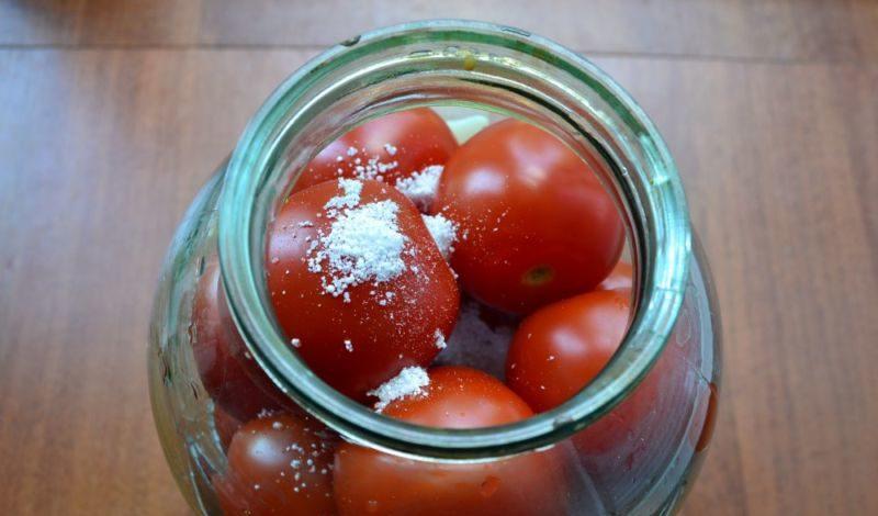 Помидоры маринованные на зиму: 7 очень вкусных рецептов сладких маринованных помидор этап 16