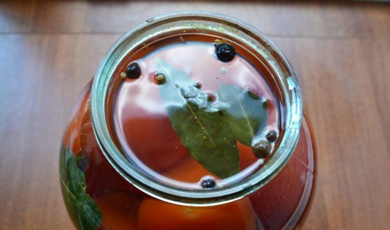 Помидоры маринованные на зиму: 7 очень вкусных рецептов сладких маринованных помидор этап 17
