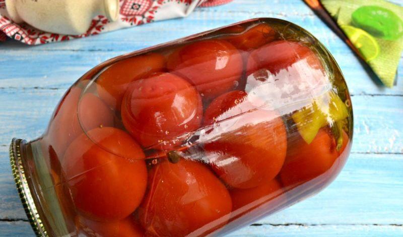 Помидоры маринованные на зиму: 7 очень вкусных рецептов сладких маринованных помидор этап 18