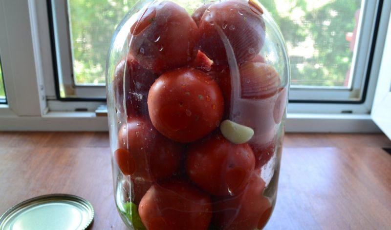 Помидоры маринованные на зиму: 7 очень вкусных рецептов сладких маринованных помидор этап 13