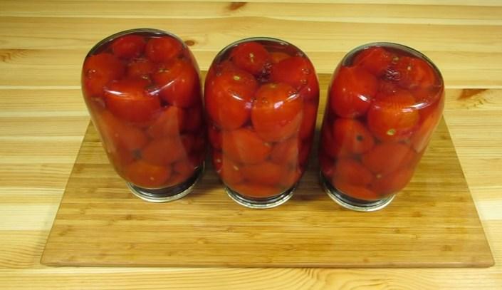 Помидоры маринованные на зиму: 7 очень вкусных рецептов сладких маринованных помидор этап 12
