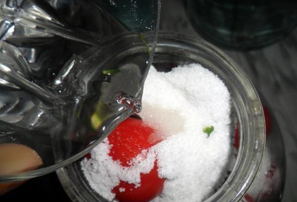 Помидоры маринованные на зиму: 7 очень вкусных рецептов сладких маринованных помидор этап 35