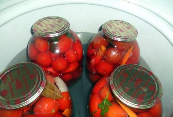 Помидоры маринованные на зиму: 7 очень вкусных рецептов сладких маринованных помидор этап 36