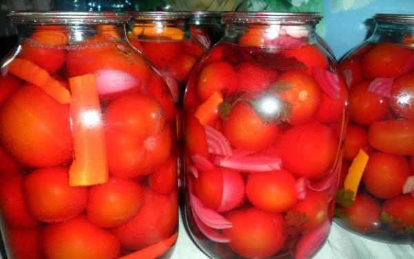 Помидоры маринованные на зиму: 7 очень вкусных рецептов сладких маринованных помидор этап 38