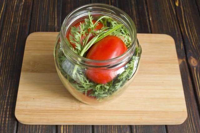 Помидоры маринованные на зиму: 7 очень вкусных рецептов сладких маринованных помидор этап 23