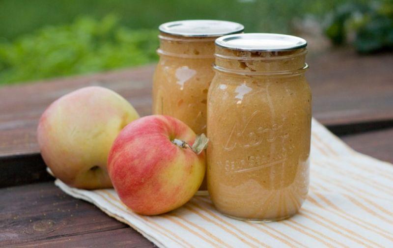 Яблочное пюре — 8 самых простых рецептов на зиму