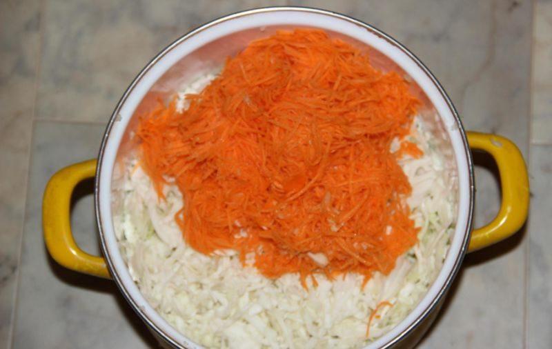 Салат из капусты на зиму — очень вкусные рецепты в банке этап 34