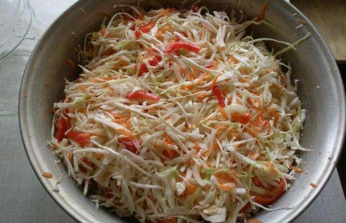 Салат из капусты на зиму — очень вкусные рецепты в банке этап 11