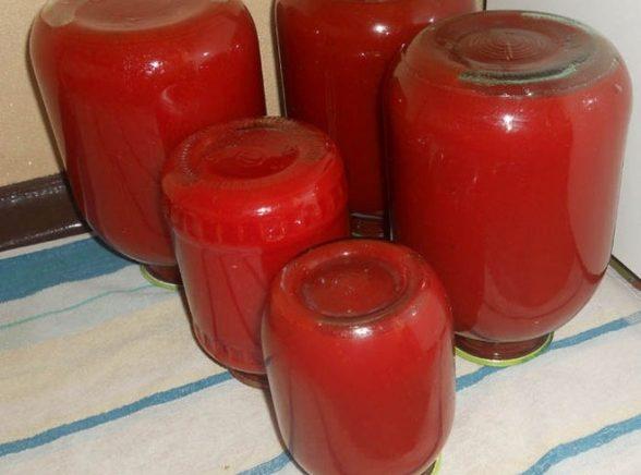 Томатный сок в домашних условиях — 8 рецептов очень вкусного сока на зиму этап 13