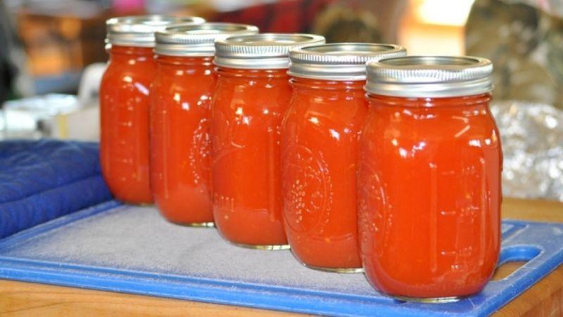 Томатный сок в домашних условиях — 8 рецептов очень вкусного сока на зиму этап 21