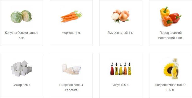 Салат из капусты на зиму — очень вкусные рецепты в банке этап 6