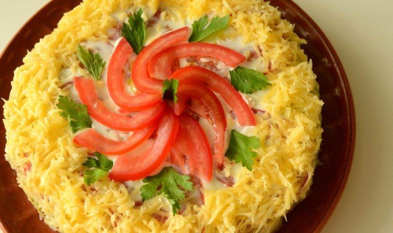Торт из кабачков — 8 рецептов вкуснейшего кабачкового торта этап 65