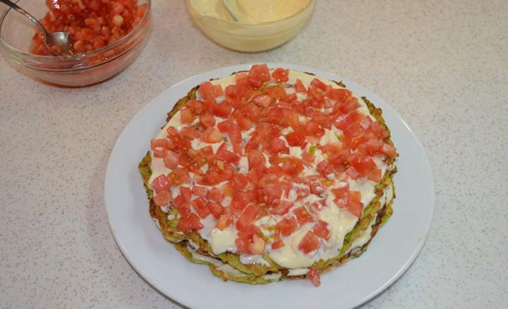 Торт из кабачков — 8 рецептов вкуснейшего кабачкового торта этап 47