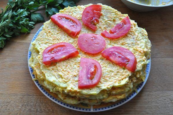 Торт из кабачков — 8 рецептов вкуснейшего кабачкового торта этап 59