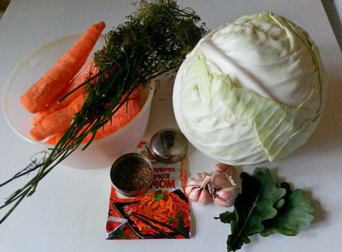 Квашеная капуста быстрого приготовления — 8 рецептов вкусной квашеной капусты этап 21