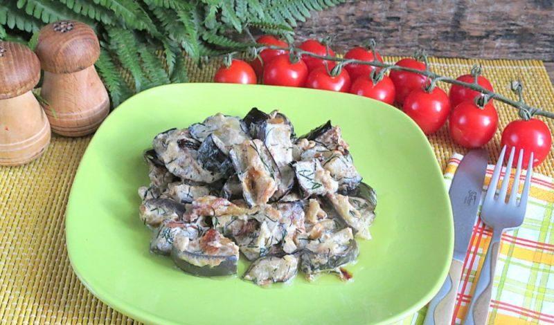 Баклажаны как грибы — 10 быстрых и вкусных рецептов этап 45