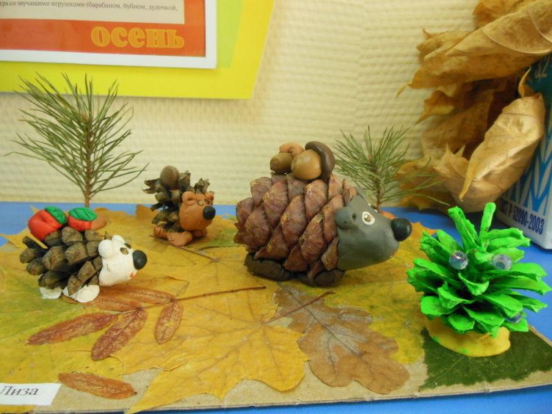 Поделки из природного материала на тему осень в школу и для детского сада. 66 интересных и оригинальных идей этап 19