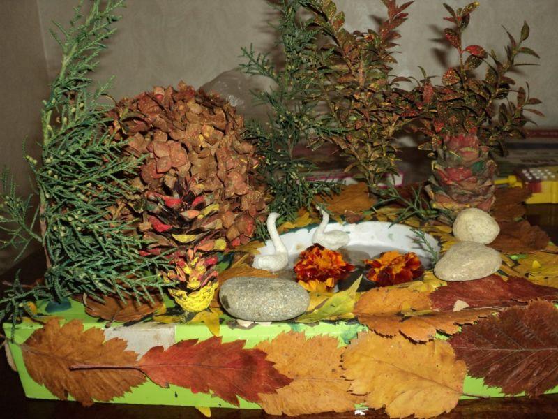 Поделки из природного материала на тему осень в школу и для детского сада. 66 интересных и оригинальных идей этап 22