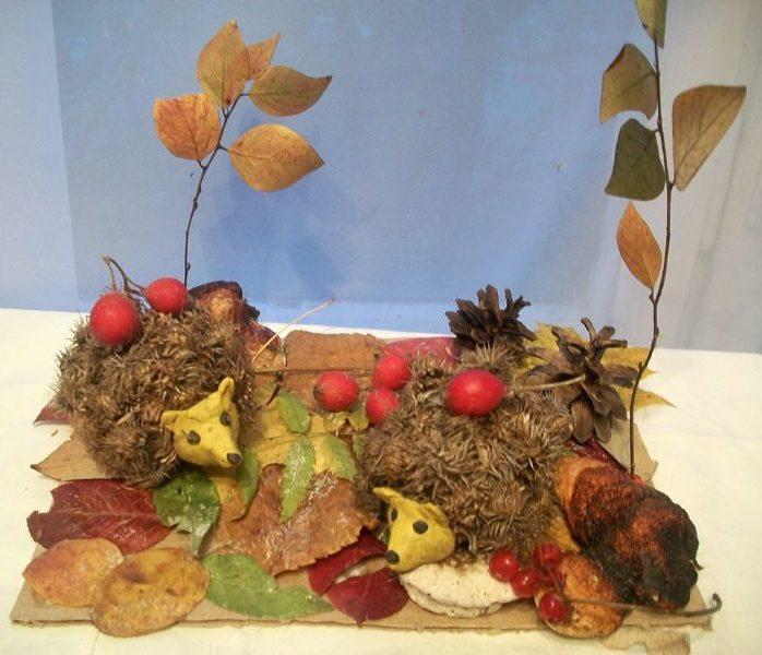 Поделки из природного материала на тему осень в школу и для детского сада. 66 интересных и оригинальных идей этап 65