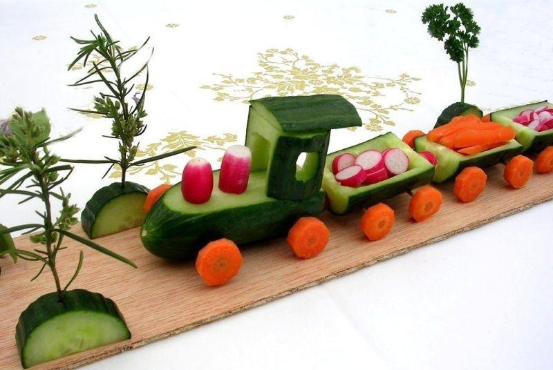 Поделки из овощей и фруктов своими руками для выставки. Самые красивые осенние поделки в детский сад и в школу этап 42
