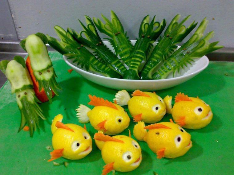 Поделки из овощей и фруктов своими руками для выставки. Самые красивые осенние поделки в детский сад и в школу этап 46