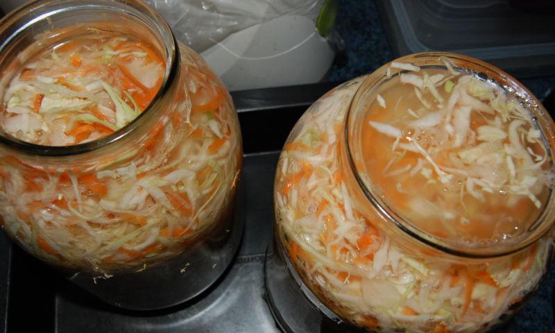 Квашеная капуста быстрого приготовления — 8 рецептов вкусной квашеной капусты этап 28