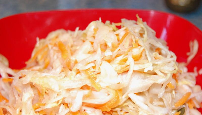 Квашеная капуста быстрого приготовления — 8 рецептов вкусной квашеной капусты этап 29