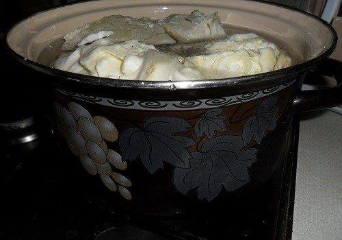 Очень вкусная капуста кусочками на зиму в банке этап 24