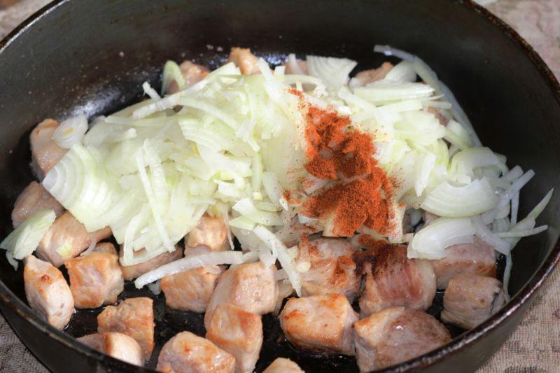 Капуста тушеная — 10 рецептов очень вкусной тушеной капусты этап 33