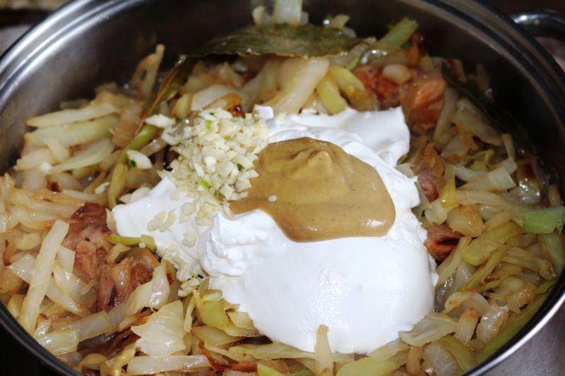 Капуста тушеная — 10 рецептов очень вкусной тушеной капусты этап 37