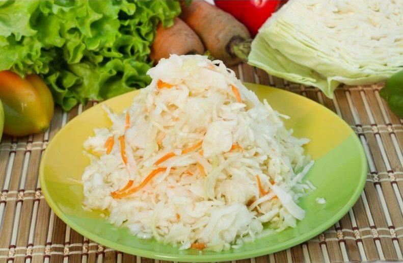Квашеная капуста быстрого приготовления — 8 рецептов вкусной квашеной капусты этап 1