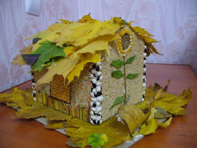 Поделки из природного материала на тему осень в школу и для детского сада. 66 интересных и оригинальных идей этап 4