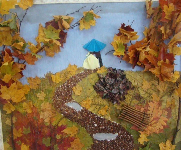 Поделки из природного материала на тему осень в школу и для детского сада. 66 интересных и оригинальных идей этап 10