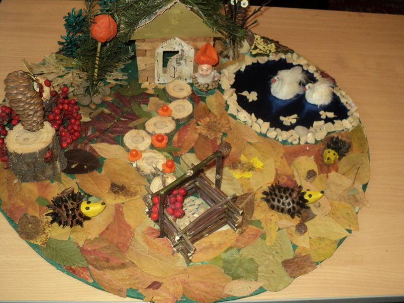 Поделки из природного материала на тему осень в школу и для детского сада. 66 интересных и оригинальных идей этап 2
