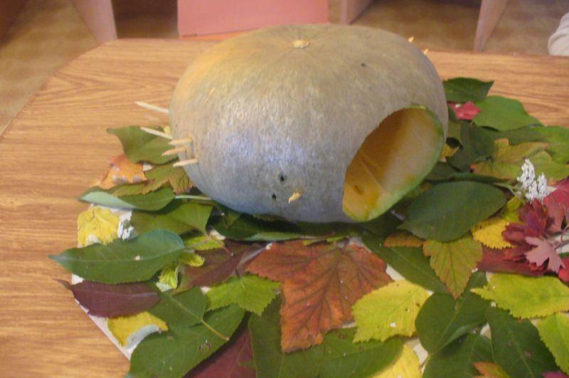Поделки из овощей и фруктов своими руками для выставки. Самые красивые осенние поделки в детский сад и в школу этап 29