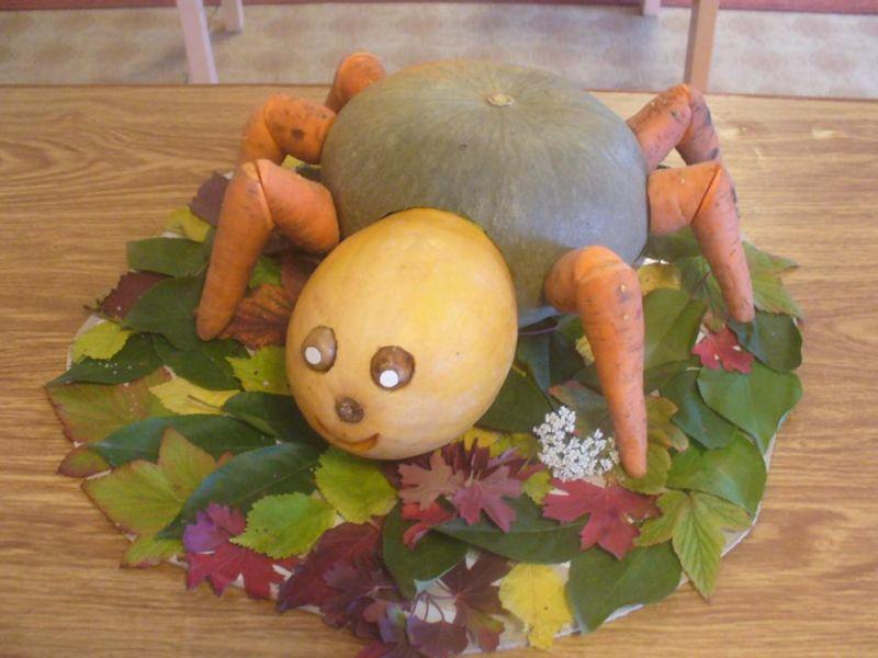 Поделки из овощей и фруктов своими руками для выставки. Самые красивые осенние поделки в детский сад и в школу этап 27