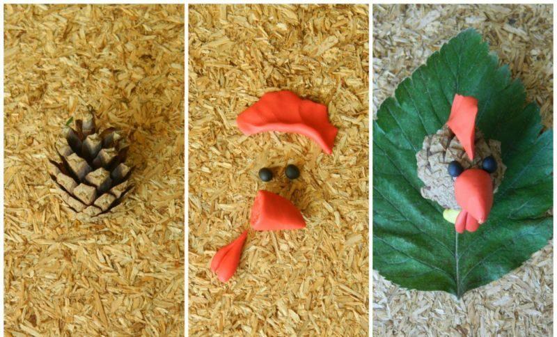 Поделки из природного материала на тему осень в школу и для детского сада. 66 интересных и оригинальных идей этап 74