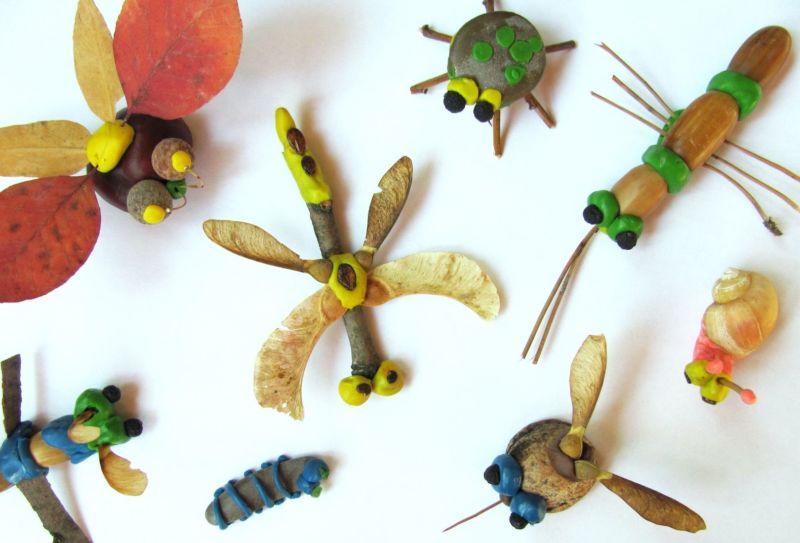 Поделки из природного материала на тему осень в школу и для детского сада. 66 интересных и оригинальных идей этап 54