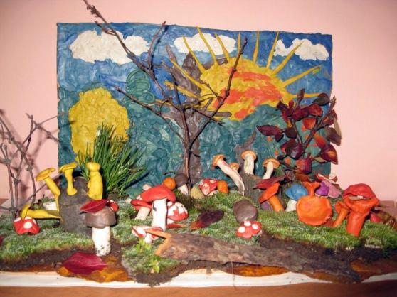 Поделки из природного материала на тему осень в школу и для детского сада. 66 интересных и оригинальных идей этап 45