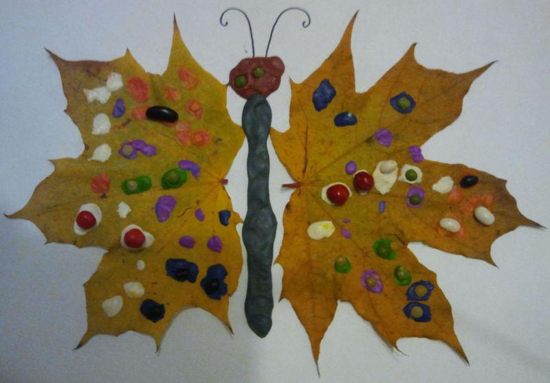 Поделки из природного материала на тему осень в школу и для детского сада. 66 интересных и оригинальных идей этап 53