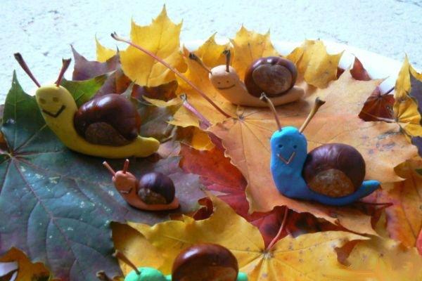 Поделки из природного материала на тему осень в школу и для детского сада. 66 интересных и оригинальных идей этап 50