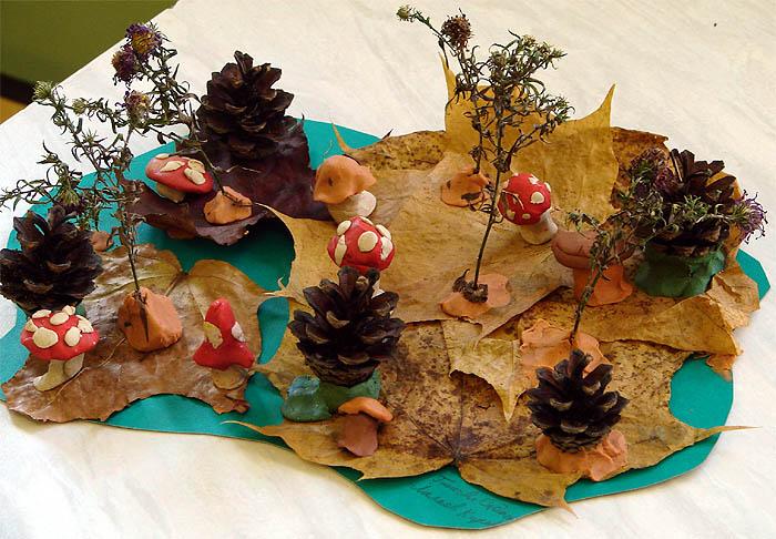 Поделки из природного материала на тему осень в школу и для детского сада. 66 интересных и оригинальных идей этап 47