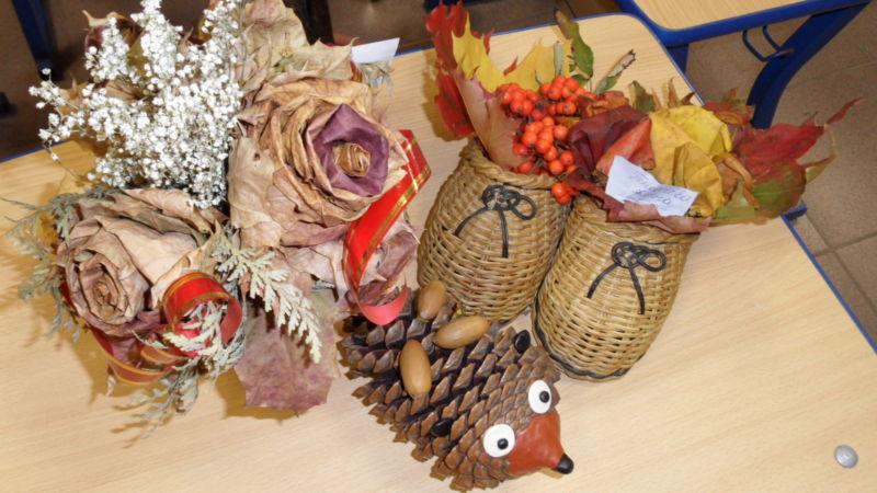Поделки из природного материала на тему осень в школу и для детского сада. 66 интересных и оригинальных идей этап 40
