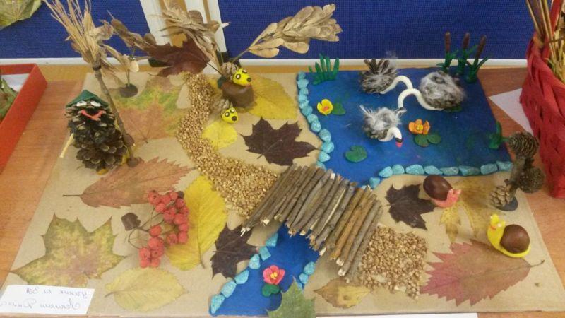 Поделки из природного материала на тему осень в школу и для детского сада. 66 интересных и оригинальных идей этап 41