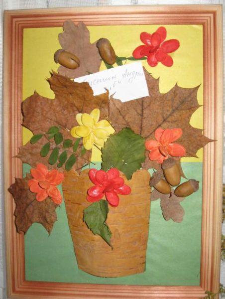 Поделки из природного материала на тему осень в школу и для детского сада. 66 интересных и оригинальных идей этап 34
