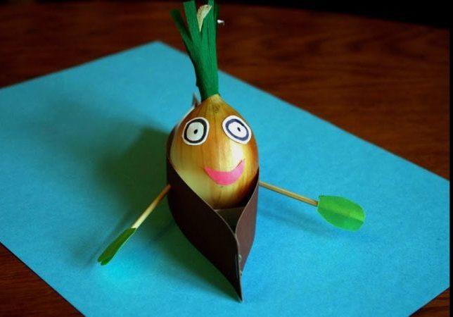 Поделки из овощей и фруктов своими руками для выставки. Самые красивые осенние поделки в детский сад и в школу этап 33